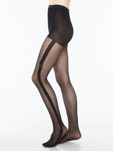 Fishnet Pantyhose with Bow, Chantal Thomass designed by CL
